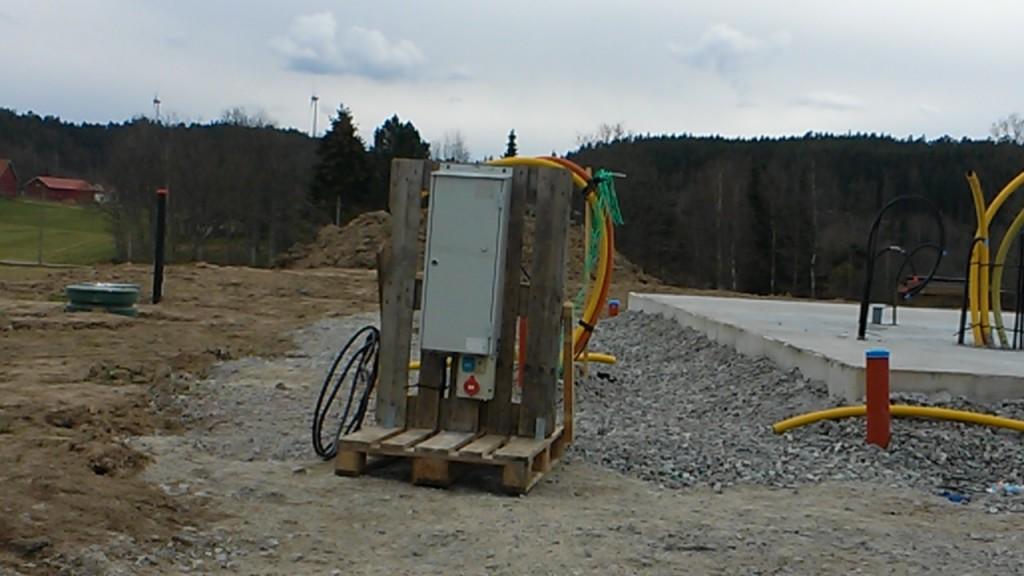 """Byggel - Elservis i backen och """"mobil"""" byggel på rätt plats"""