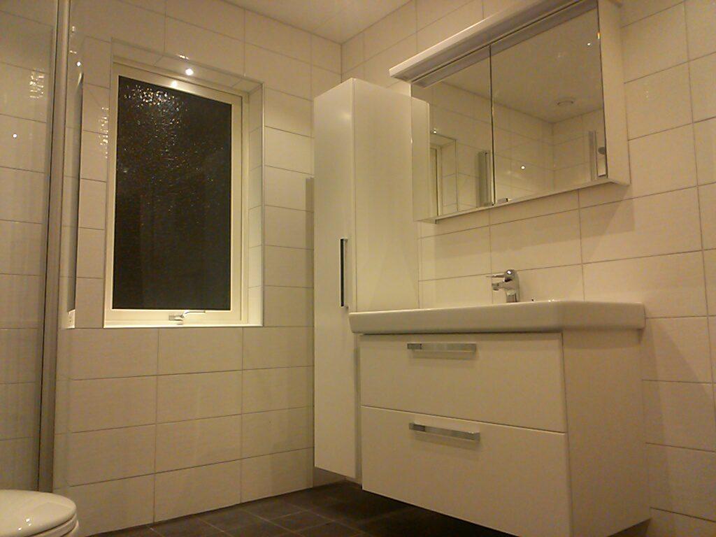 Stora badrummet - komod
